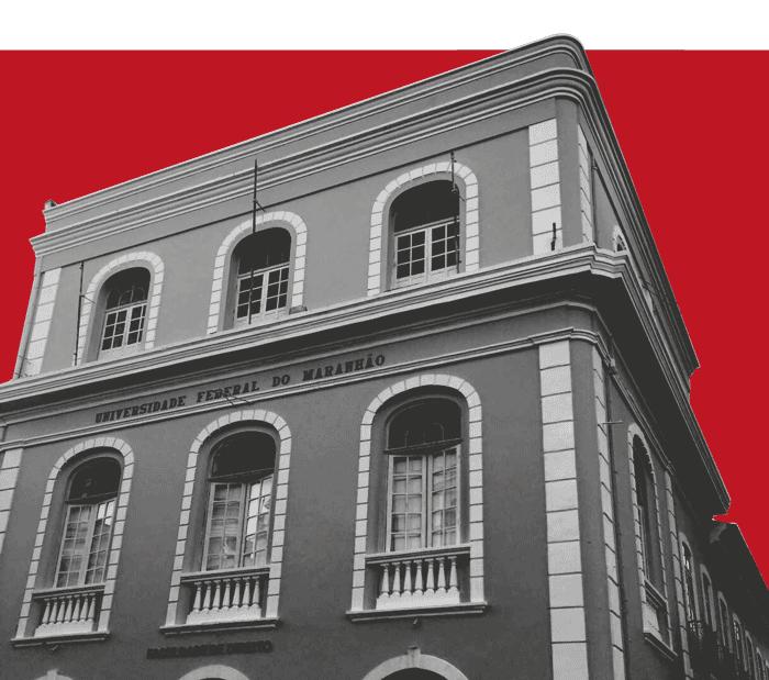 Fachado do prédio do mestrado da ufma